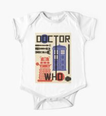 Dr Who Bauhaus Style  One Piece - Short Sleeve