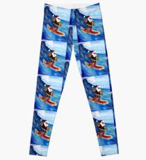 Surfin' Santa Leggings
