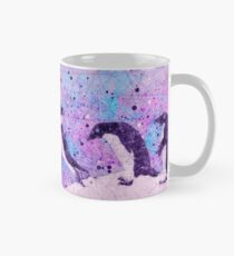 Up, Up and ahhh Splash - Abstract Adelie Penguin Mug