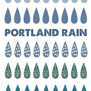 Portland Rain by nwsoulacademy