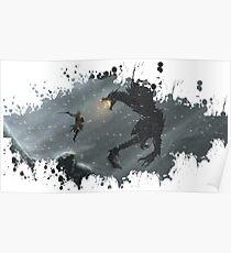 Skyrim Splatter Poster
