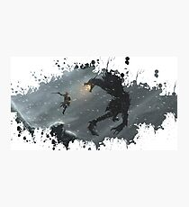 Skyrim Splatter Photographic Print