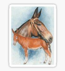 Mule Sticker