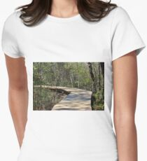 Explore Nature Womens Fitted T-Shirt