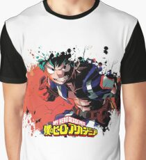 Boku no hero academia splatter Graphic T-Shirt