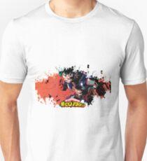 Boku no hero academia splatter Unisex T-Shirt