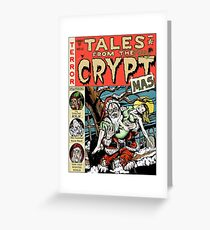Merry Christmas / Tales From the Cryptmas Greeting Card