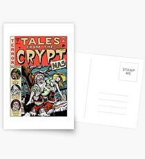 Merry Christmas / Tales From the Cryptmas Postcards