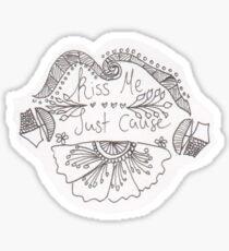 Kiss Me Sticker Sticker