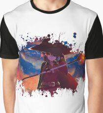Megumin Splatter Graphic T-Shirt