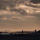 Sunset Pacific at Atlantic by KarenDinan