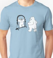Mirror Muscle Bear Unisex T-Shirt