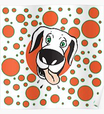 Seeing Spots Dog Poster