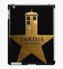 TARDIS - It's Bigger on the Inside iPad Case/Skin