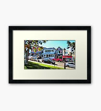 Main Street - Bar Harbor Framed Print