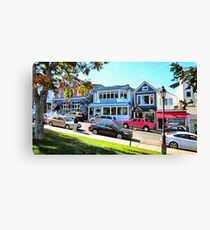 Main Street - Bar Harbor Canvas Print