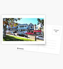 Main Street - Bar Harbor Postcards