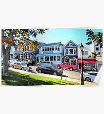 Main Street - Bar Harbor Poster