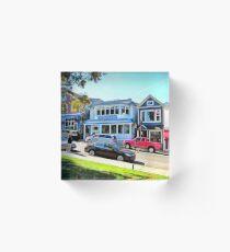 Main Street - Bar Harbor Acrylic Block