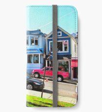 Main Street - Bar Harbor iPhone Wallet/Case/Skin