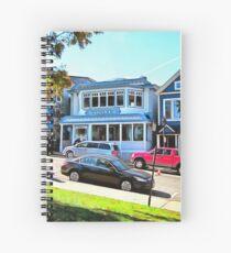 Main Street - Bar Harbor Spiral Notebook