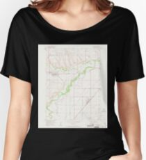 USGS TOPO Map Colorado CO Milliken 451267 1950 24000 Women's Relaxed Fit T-Shirt