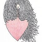 Hair and heart by Ercan BAYSAL