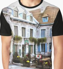 Place Royale - Old Quebec City Graphic T-Shirt