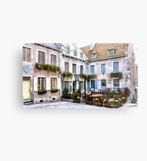 Place Royale - Old Quebec City Metal Print