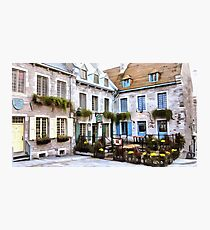 Place Royale - Old Quebec City Photographic Print