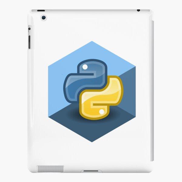 hexagonal python iPad Snap Case