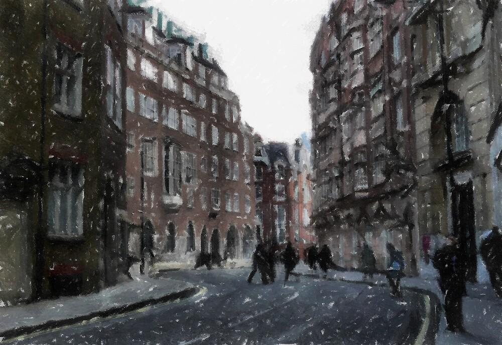 Winter Walkers by mmrich