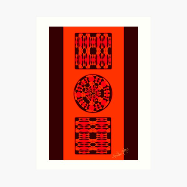 Cryptic Strategy Art Print