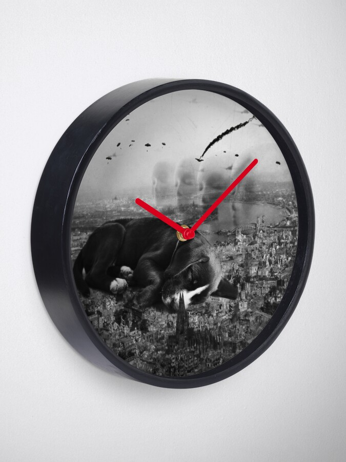 Alternate view of Aleppo, heads they look on Clock