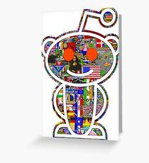 Reddit place Greeting Card