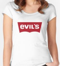 Evil's Jeans Women's Fitted Scoop T-Shirt