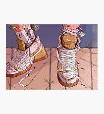 Stranger Kicks Photographic Print