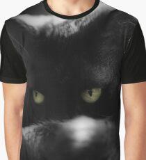cat eyes, macro portrait Graphic T-Shirt