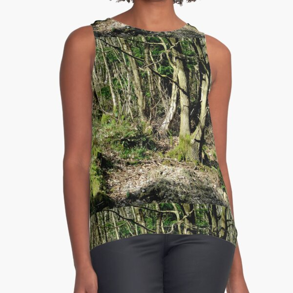 Forest Sleeveless Top