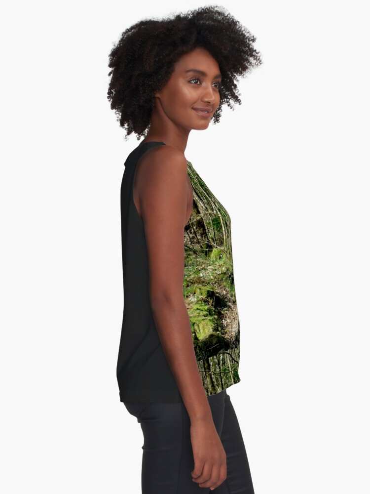 Alternate view of Forest Sleeveless Top
