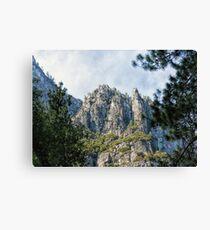 Peaks and Spires Canvas Print