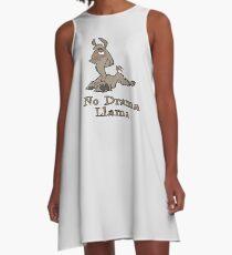 No Drama Llama A-Line Dress