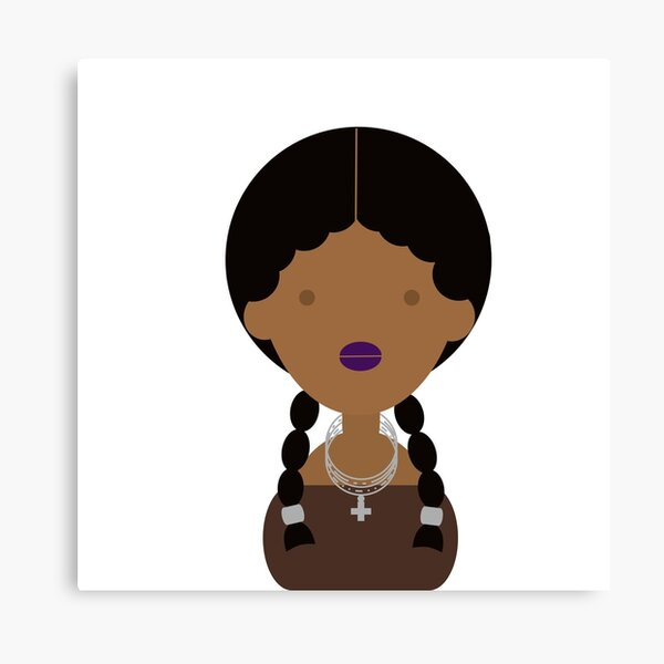 Formation girl Canvas Print
