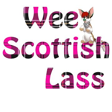 Wee Scottish Lass Pink by MoscoMoon