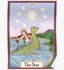 The Star Cryptozoology Tarot Poster