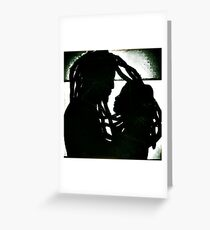 rasta love Greeting Card
