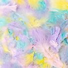 Pastel Feathers  by Sandra Foster