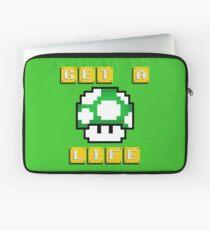 Get A Life Mushroom Laptop Sleeve