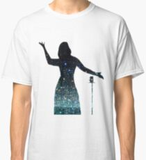 Infinity Mirror Room Adele Silhouette Classic T-Shirt