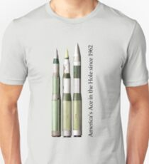 Ace in the Hole - the Minuteman III series (MM1, MM2, MM3-early) Unisex T-Shirt